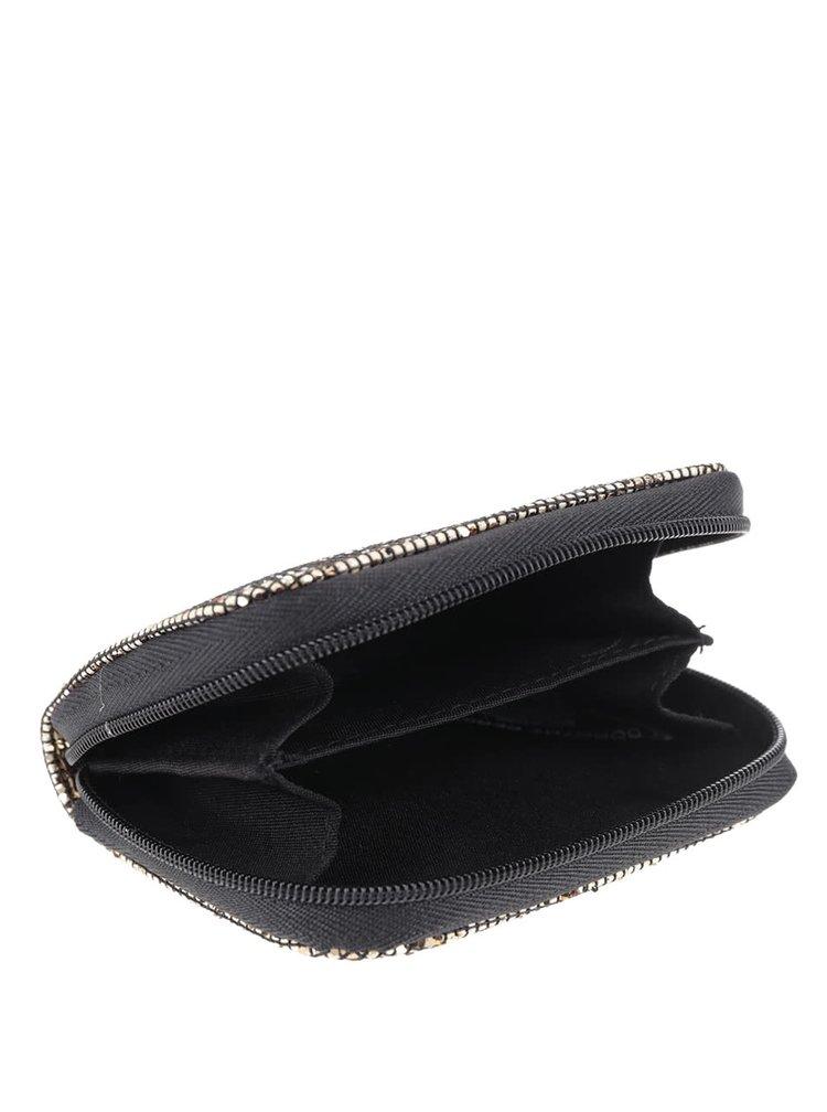 Malá peněženka ve zlaté barvě Dorothy Perkins
