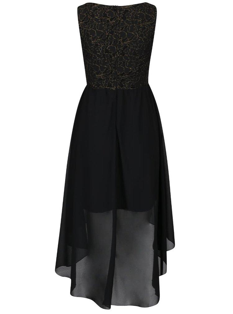 Rochie neagră asimetrică Mela London