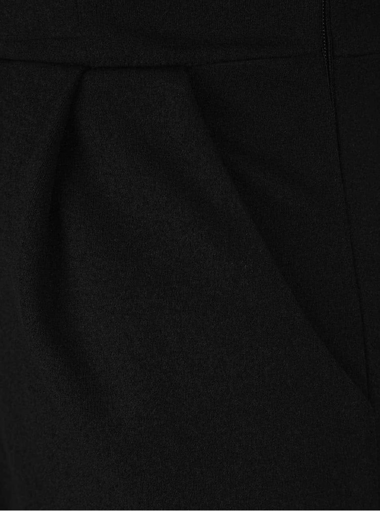 Salopeta neagra cu detaliu decorativ Mela London