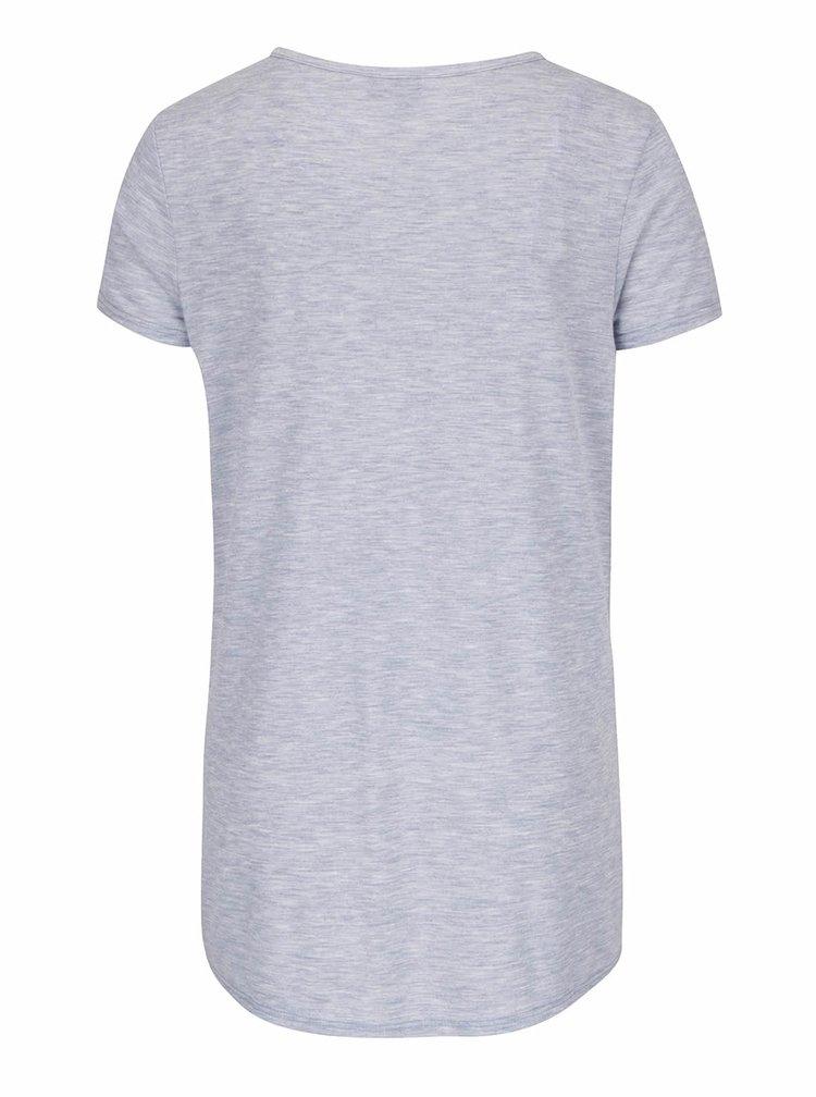 Svetlomodré tehotenské žíhané tričko Dorothy Perkins Maternity