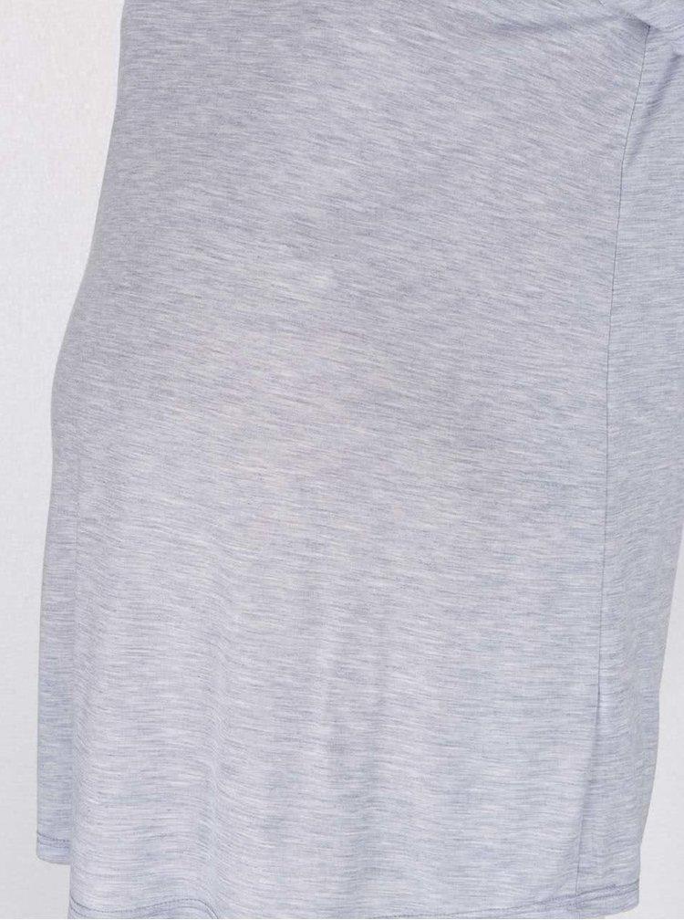 Světle modré těhotenské žíhané tričko Dorothy Perkins Maternity