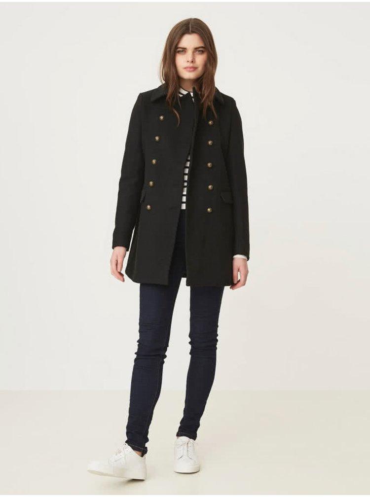 Palton negru cu buzunare VERO MODA Marina