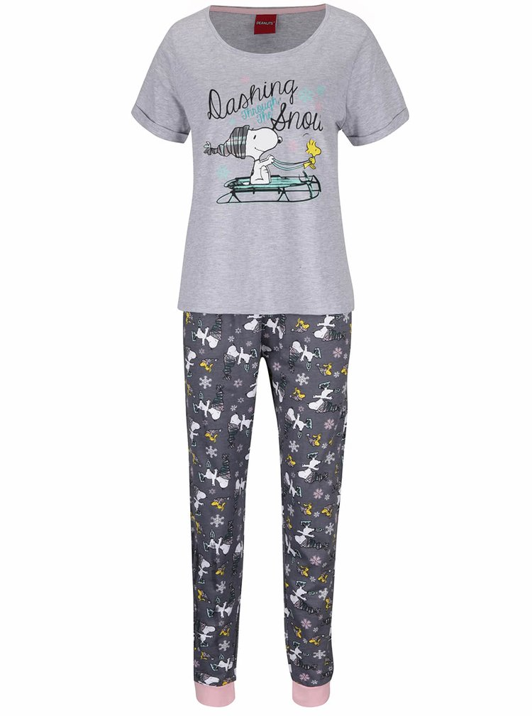 Pijamale gri Dorothy Perkins Snoopy