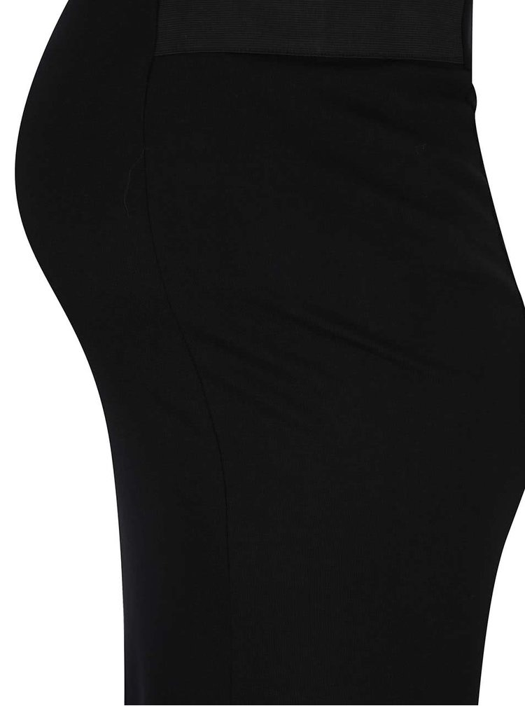 Fustă neagră Dorothy Perkins Maternity cu talie elastică