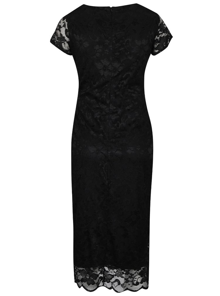 Rochie neagră Dorothy Perkins Maternity din dantelă