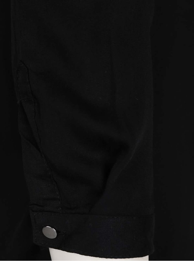 Černá propínací halenka Haily´s Sara