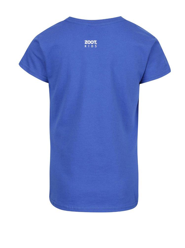 Tricou albastru de fete ZOOT Kids
