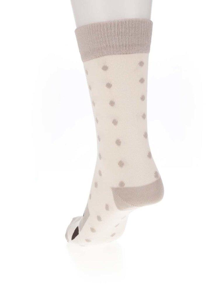 Béžové ponožky se soby ZOOT Originál