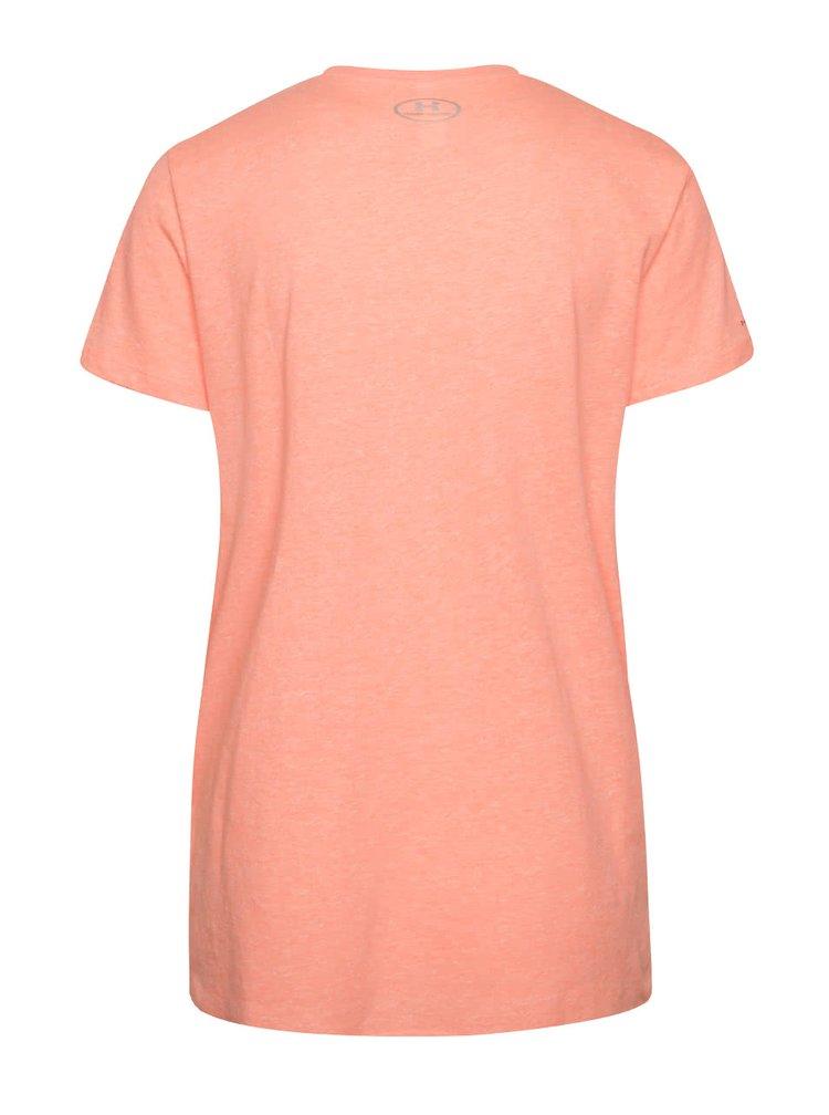 7c780a1b3a82 Lososové dámske funkčné tričko s krátkym rukávom Under Armour
