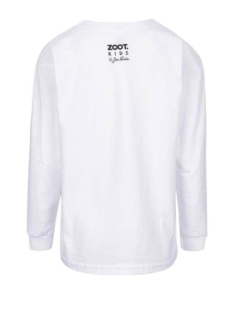 Bílé holčičí tričko s dlouhým rukávem ZOOT Kids Jos. Lada Jesličky