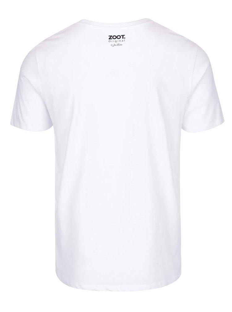 Bílé pánské tričko ZOOT Originál Jos. Lada Dej mi pokoj