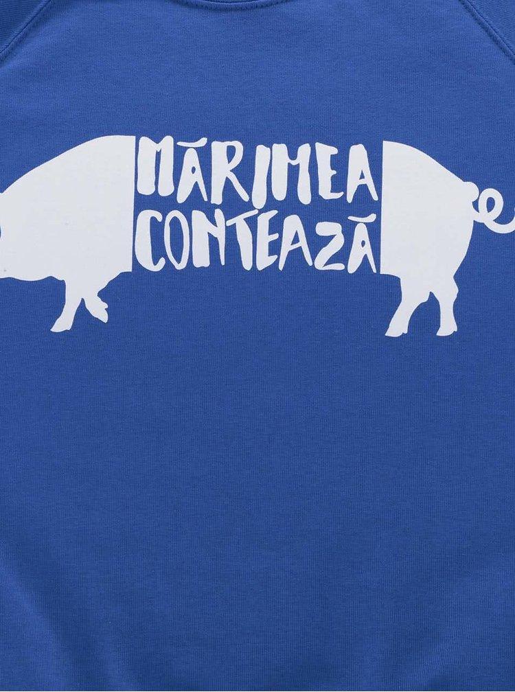 Bluză albastră de bărbați ZOOT Original cu print