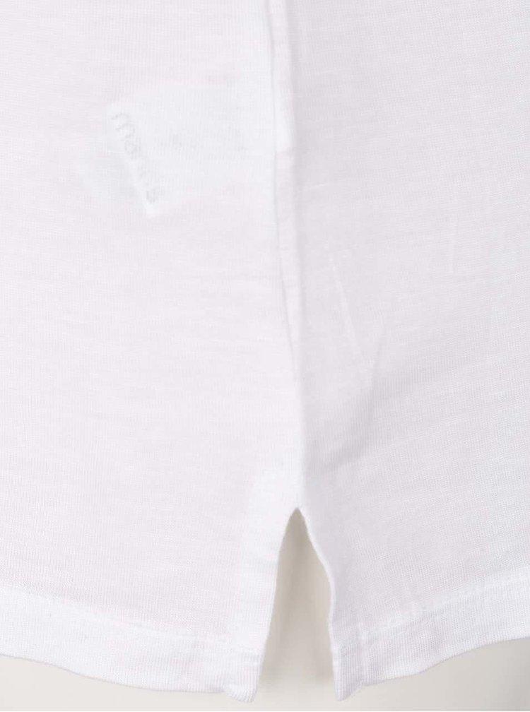 Tricou alb de damă ZOOT Original 100% Șorici