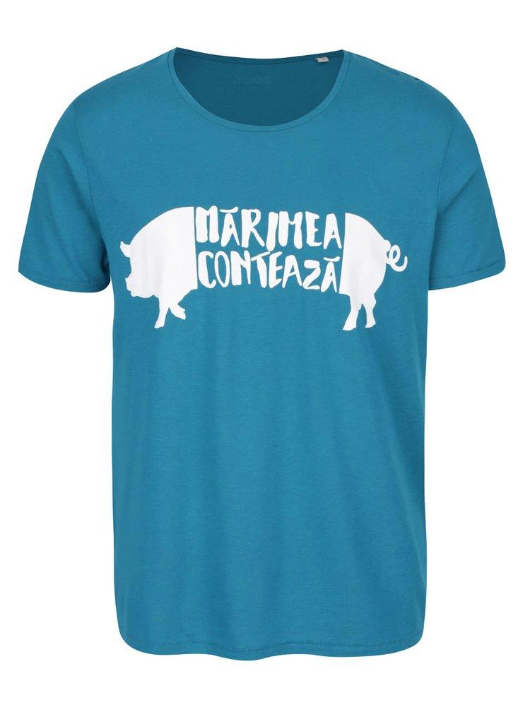 Tricou turcoaz de barbati ZOOT Original Prase