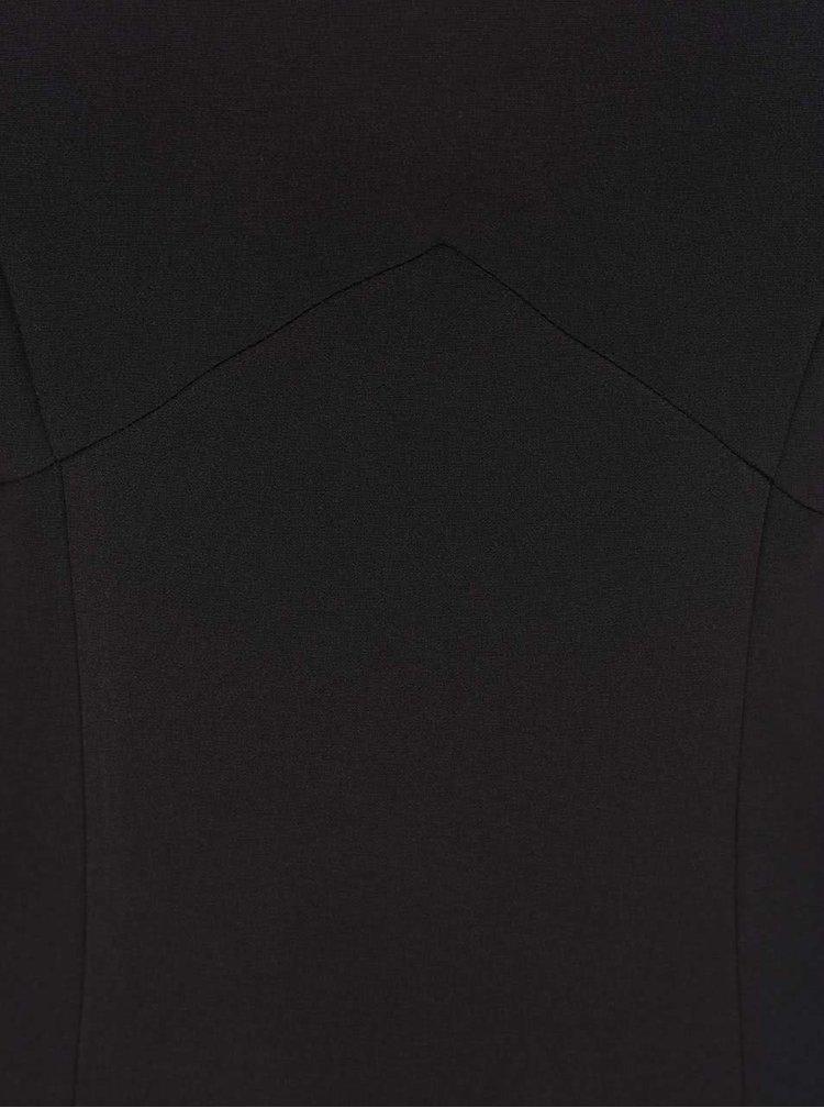 Čierne šaty s čipkou ONLY Vanilla
