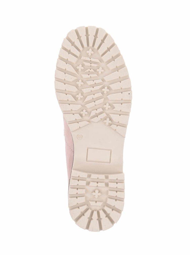 Ghete roz prăfuit Tamaris cu perforații decorative