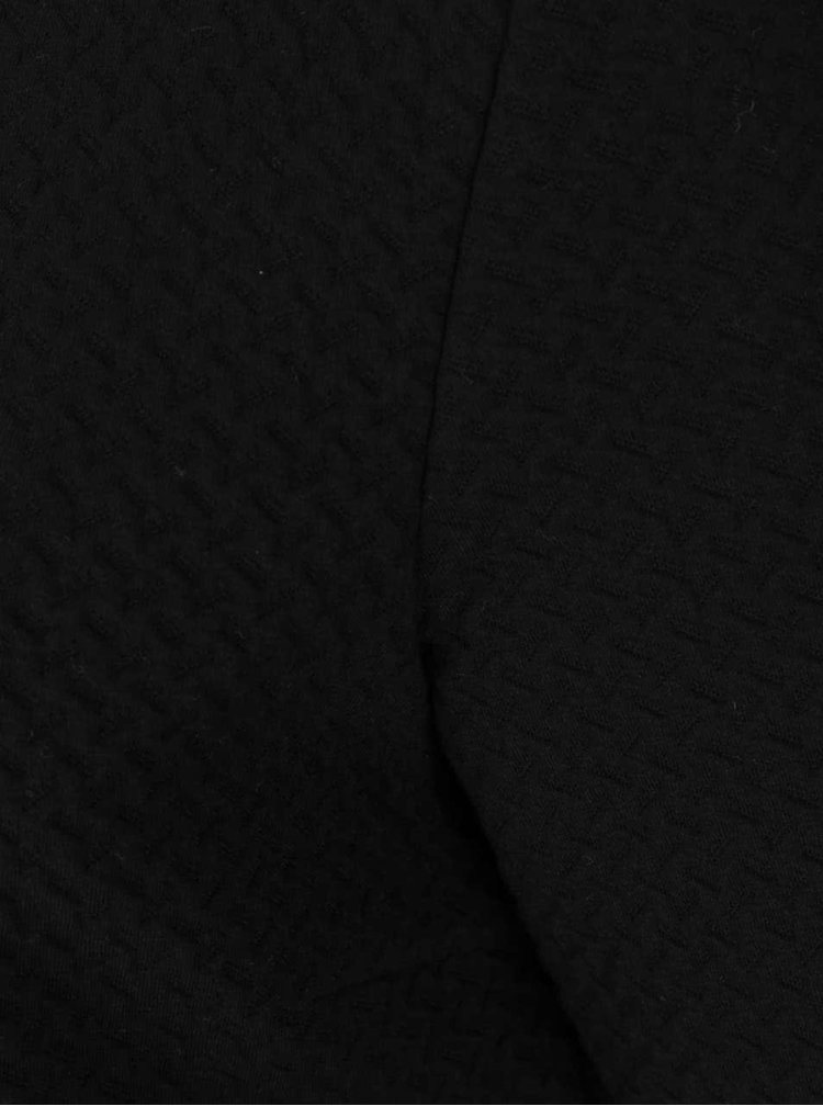 Černý delší kardigan s prošívaným vzorem VILA Naja