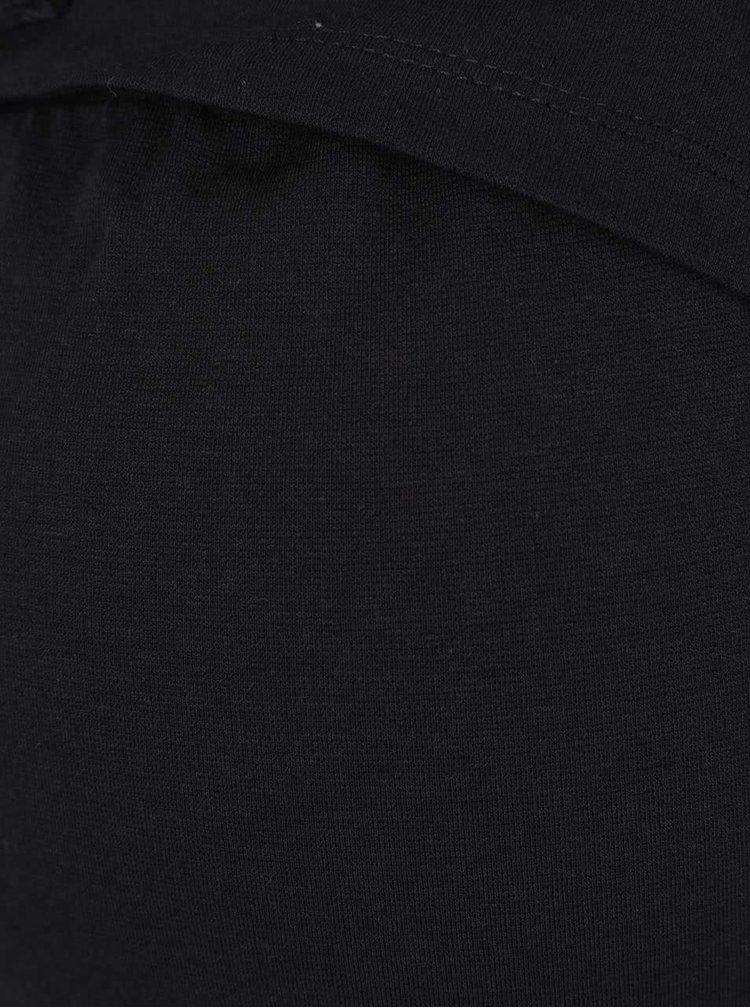 Sivo-čierne tehotenské/kojenecké šaty Mama.licius Kayla