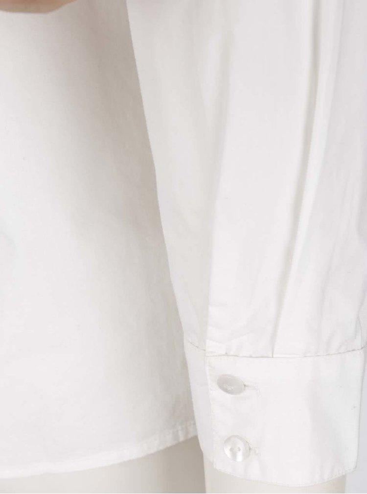 Biela blúzka s volánikom VERO MODA June