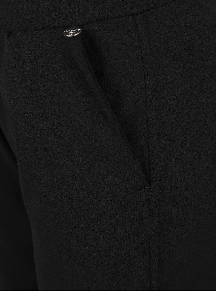 Černé volnější kalhoty Rich & Royal