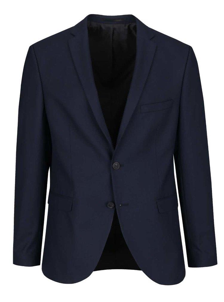 Tmavě modré oblekové sako Selected Homme Done Taxluke