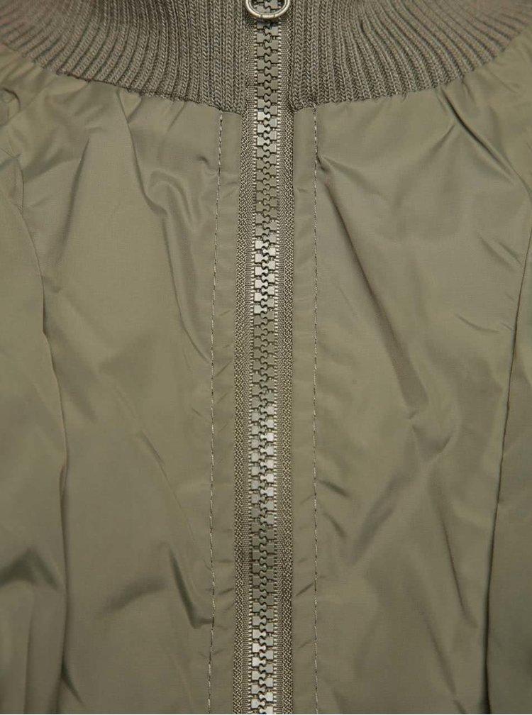 Khaki klučičí prošívaná bunda 5.10.15.