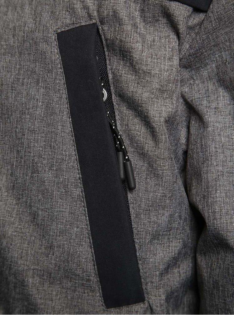 Modro-šedá klučičí parka 5.10.15.