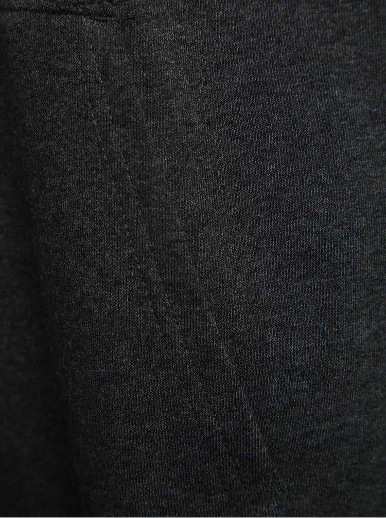 Tmavosivá pánska mikina s kapucňou Vans Core