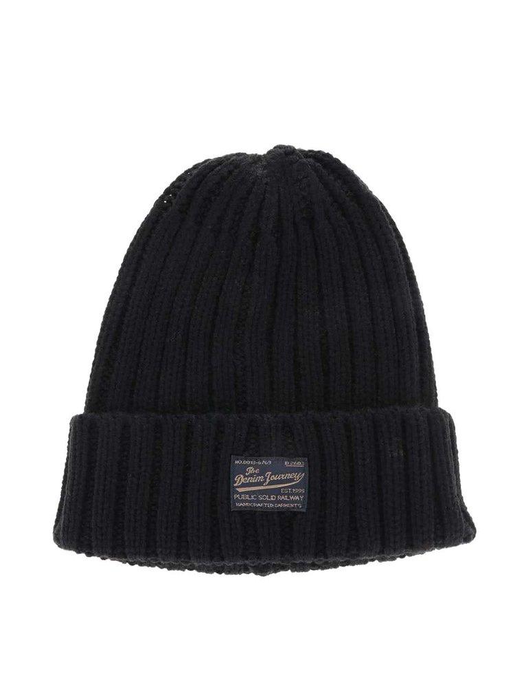 Černá zimní čepice !Solid Destry