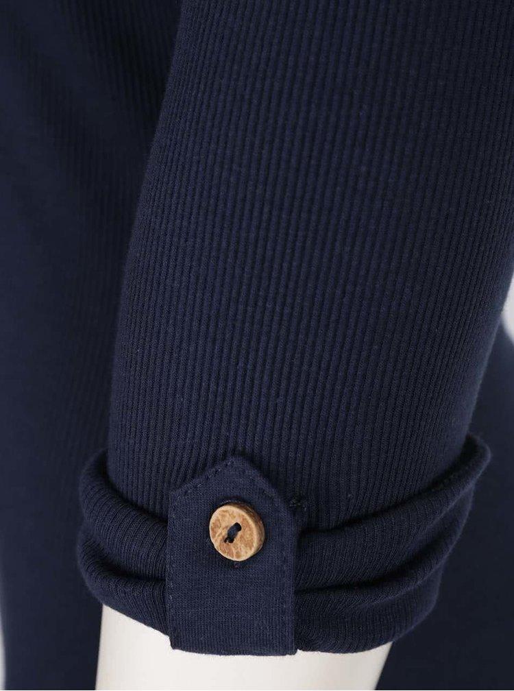 Modré tričko s 3/4 rukávem Haily´s Marry