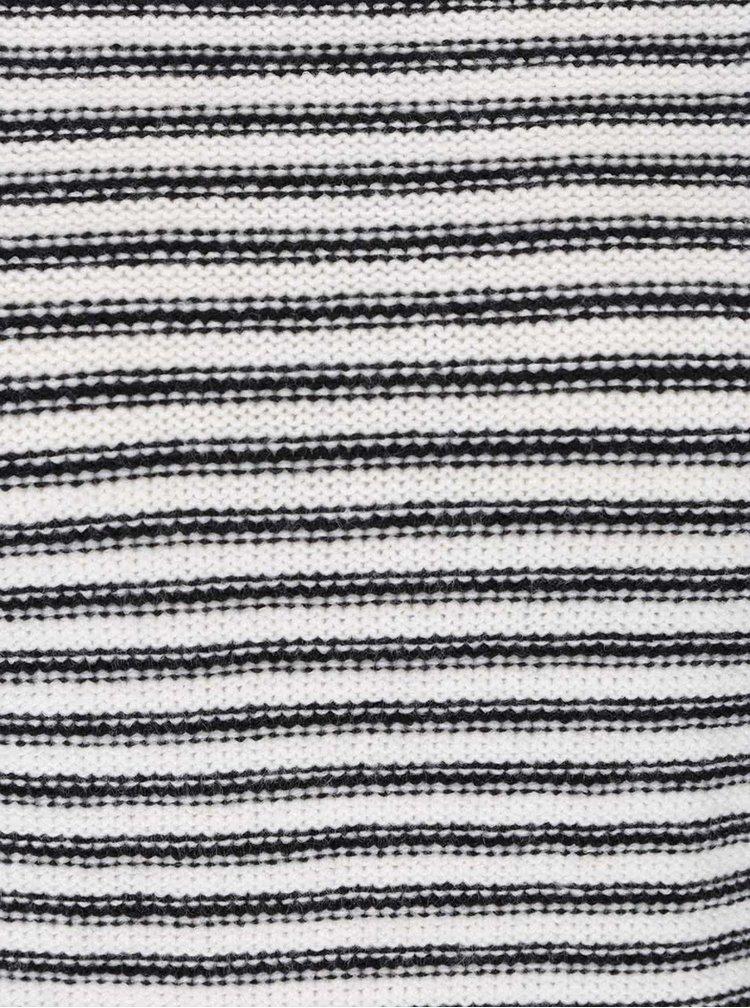 Bílo-černý pruhovaný svetr TALLY WEiJL