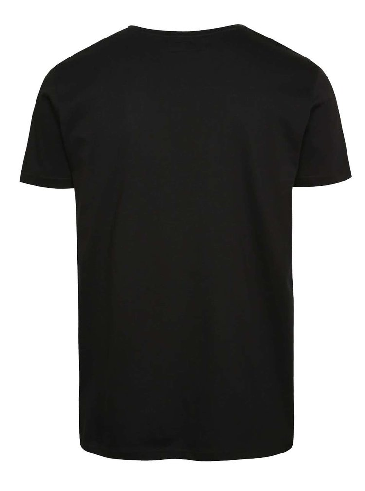 Černé triko s potiskem !Solid Felix