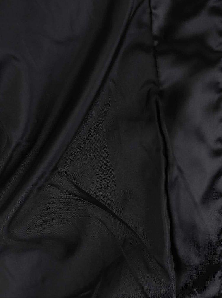 Krémovo-čierny bomber s nášivkou Haily's Floria