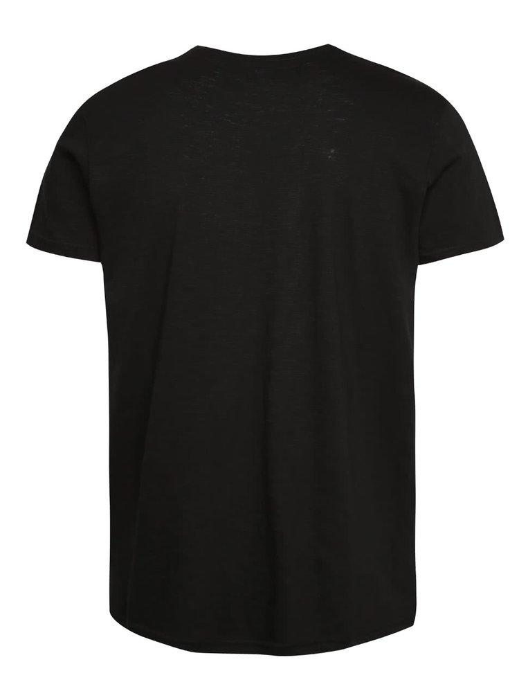 Černé basic triko !Solid Rosti