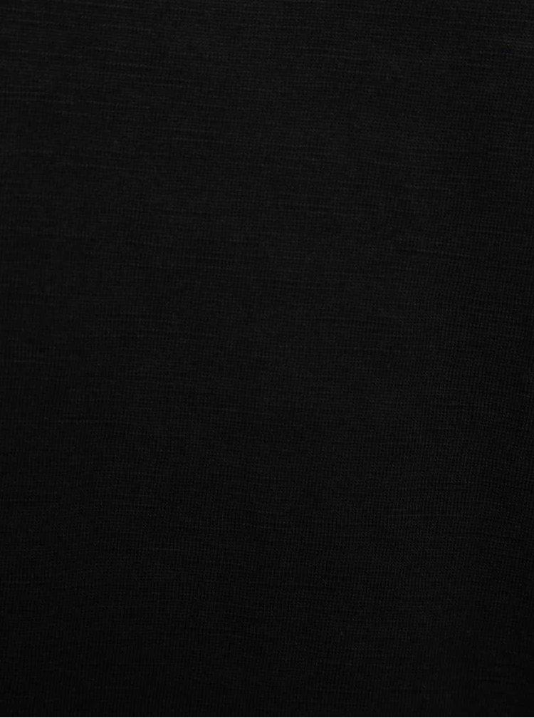 Čierne basic tričko !Solid Rosti