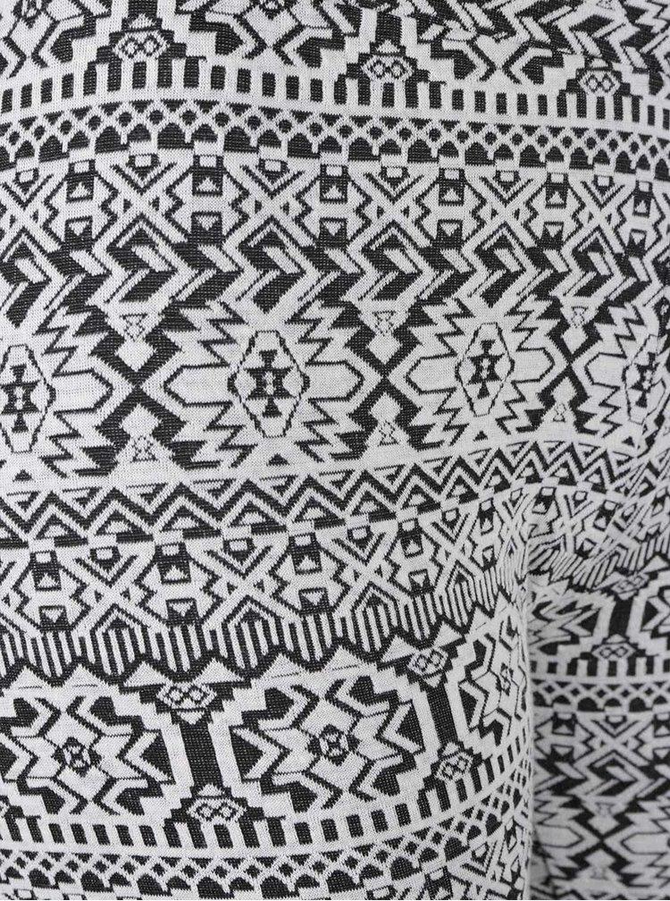 Černo-bílé vzorované legíny Haily´s Kandra