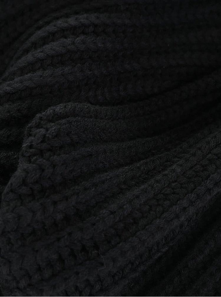 Černá šála !Solid Diara