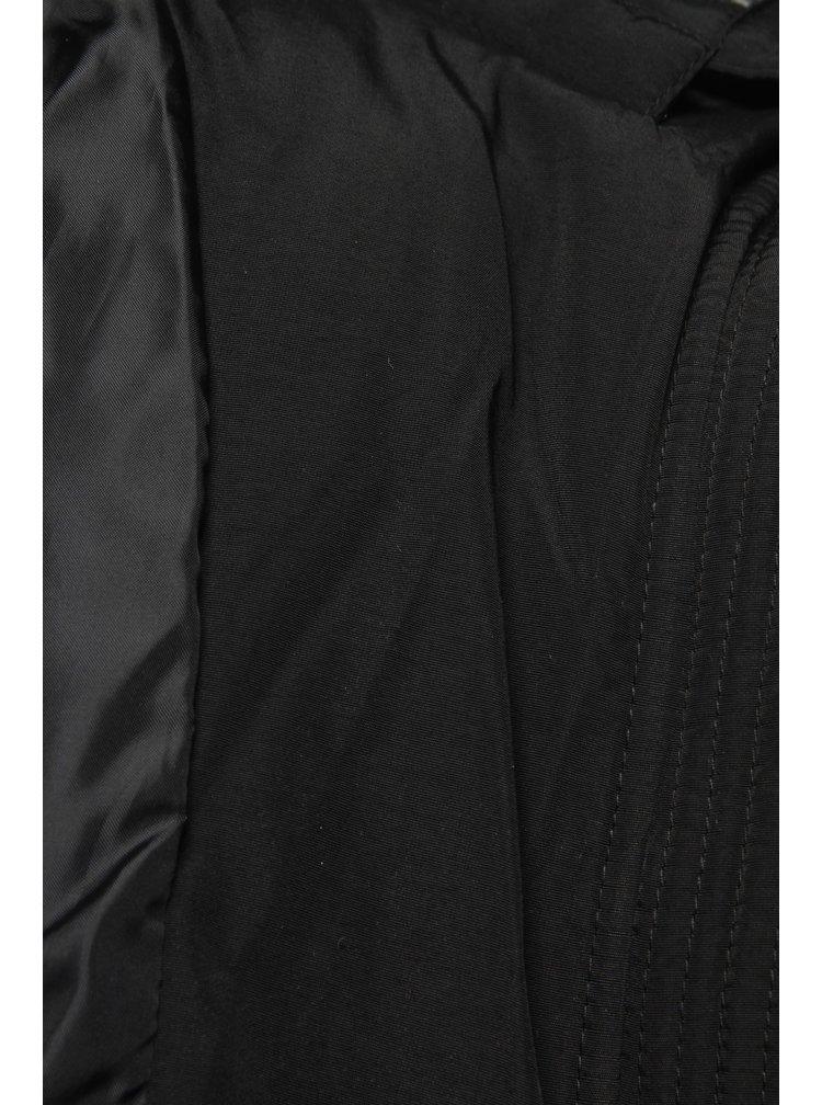 Černá dámská prošívaná bunda Cars Demelza