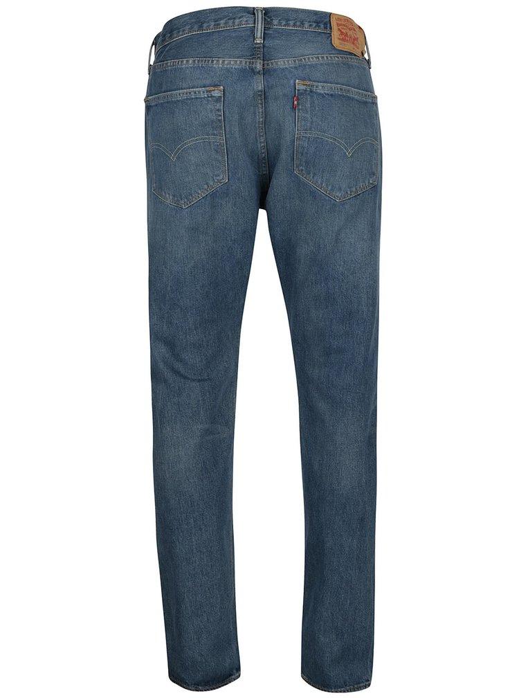 Modré pánské džíny s vyšisovaným efektem Levi's® 501®