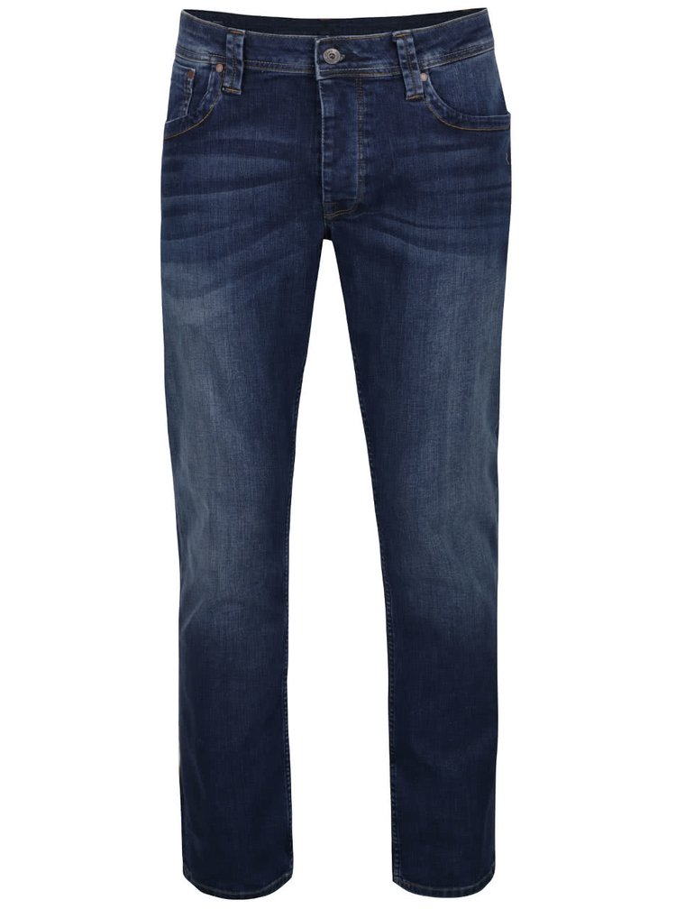Tmavě modré pánské džíny Pepe Jeans Cash