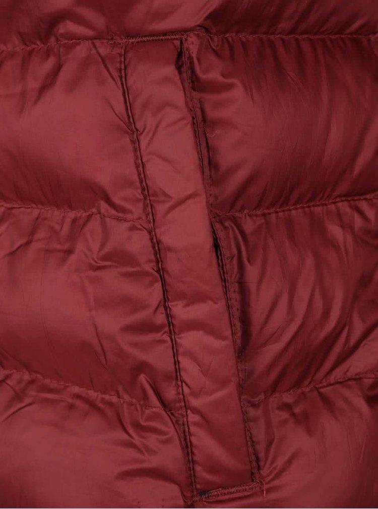 Červená prešívaná bunda Jack & Jones Faster
