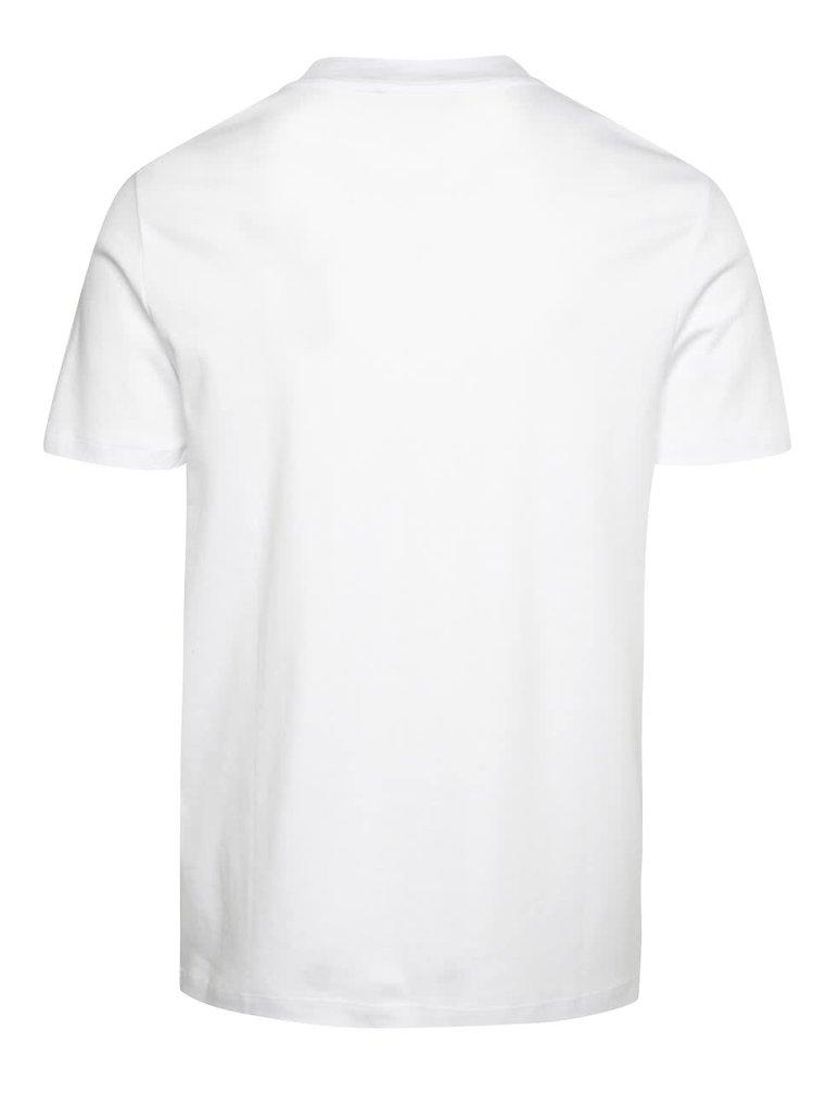 Biele tričko s krátkym rukávom Jack & Jones High