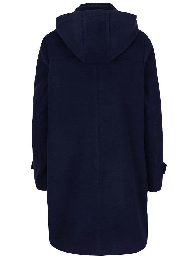 Tmavě modrý kabát s přezkami Lavand
