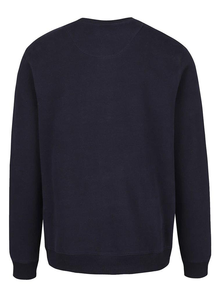 Tmavě modrá mikina Burton Menswear London