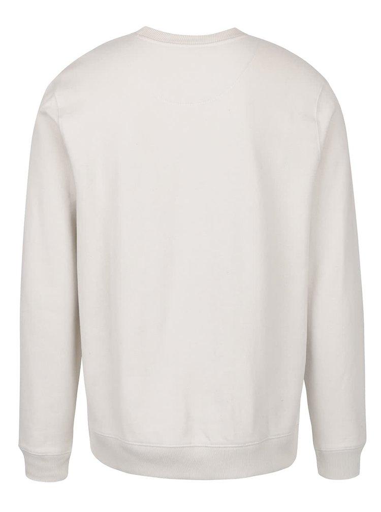 Krémová mikina Burton Menswear London