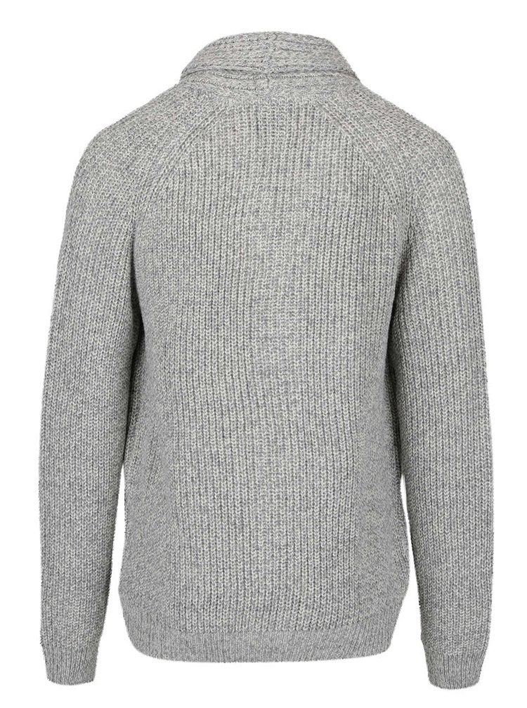 Cardigan gri deschis Burton Menswear London