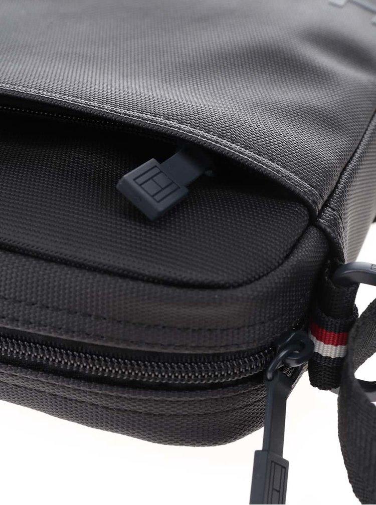 Čierna pánska taška cez rameno Tommy Hilfiger