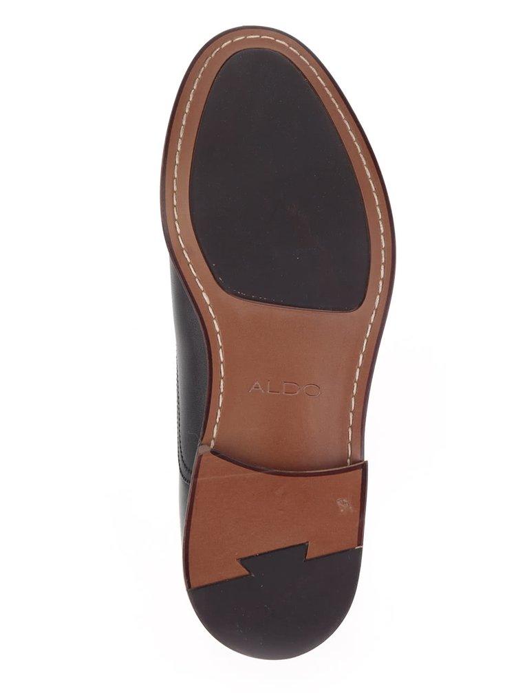 Pantofi negri ALDO Thobe din piele