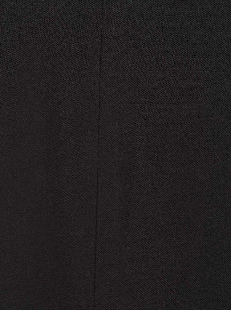 Sacou negru cu mâneci trei sferturi VILA Her