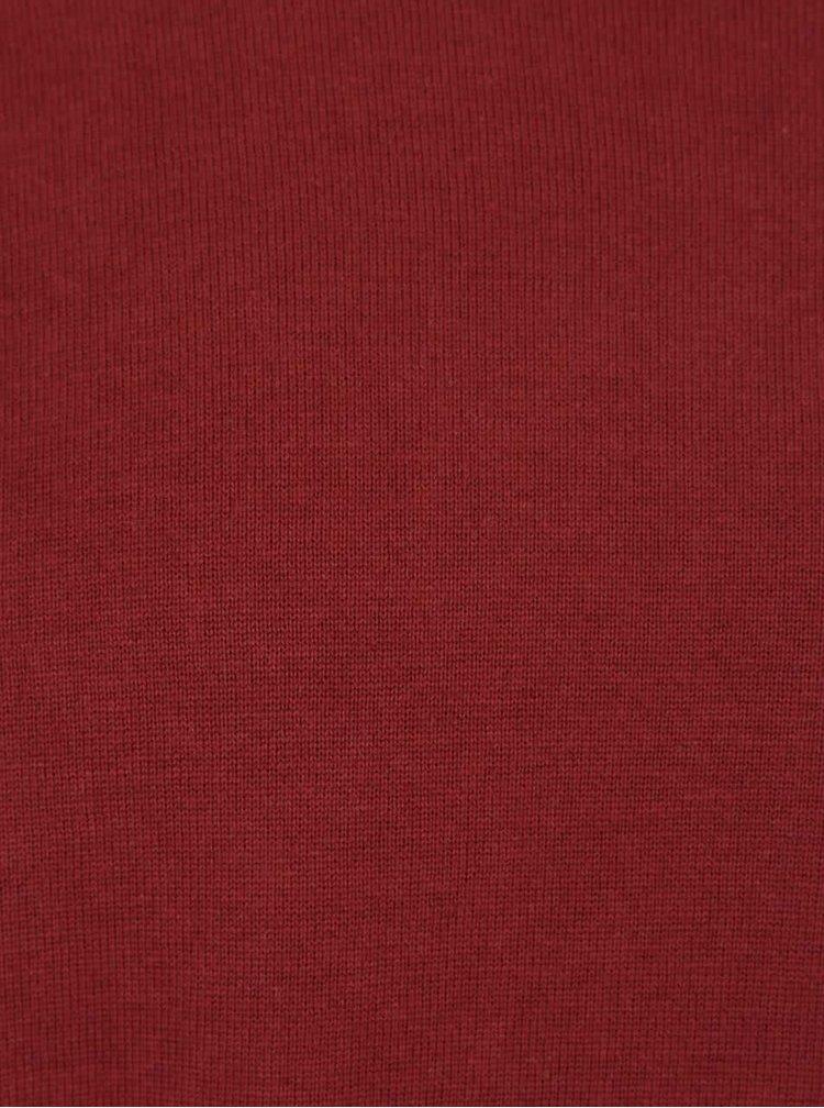 Cihlový lehký svetr Jack & Jones Basic